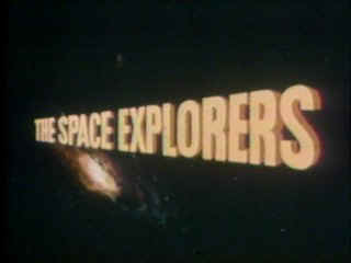 The Space Explorers opening title credit.